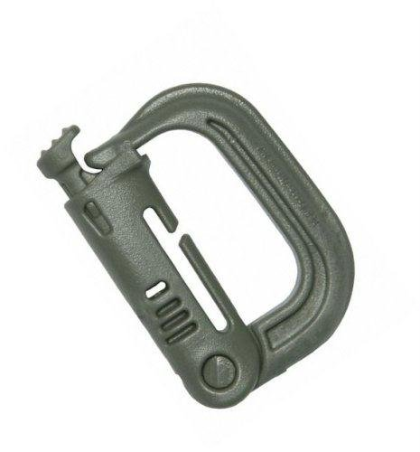 Grimloc Locking D-Ring (Pack Of 4) (Fol