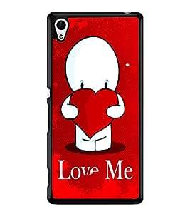Fuson 2D Printed Love Designer back case cover for Sony Xperia Z3 Plus - D4456