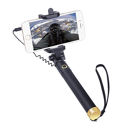 Perche De Selfie Stick iphone 6/6s iphone 5s/5c/6s/4s,HTC Desire 820/620 Huawei P8 Lite Perche Selfie Universelle
