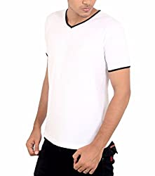 Younsters Choice Men's Cotton T-Shirt (YC-5815_White_X-Large)