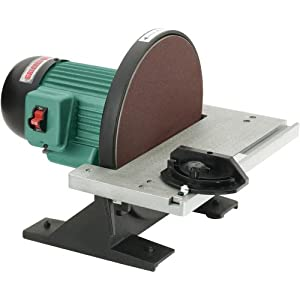 Grizzly G7297 Disc Sander 12 Inch Power Disc Sanders