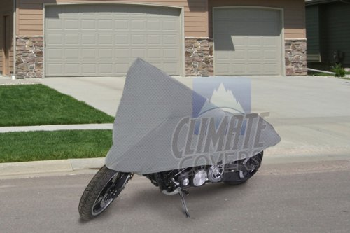 SUPERIOR 4 LAYER MATERIAL 100% WATERPROOF MOTORCYCLE BIKE COVER COVERS : FITS UP TO LENGTH 107