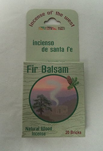 Inciensio Sante Fe: Fir Balsam 20 Incense Bricks (Cone Incense Campfire compare prices)