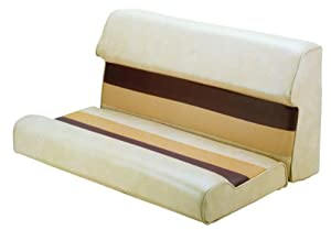 Wise 36 Inch Pontoon Bench Seat Cushion Base Required To Complete Sand Chestnut