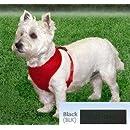 Coastal Pet Products DCP6413BLK Nylon Comfort Soft Adjustable Dog Harness, X-Small, Black