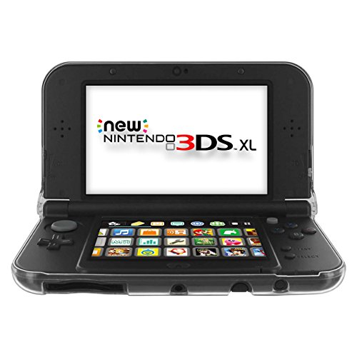 crystal case for new 204�2015 nintendo 3ds xl clear hard