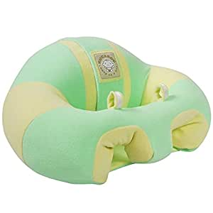 Hugaboo Infant Sitting Chair Green Yellow 3