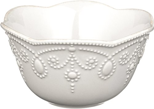 Lenox French Perle Fruit Bowl, White
