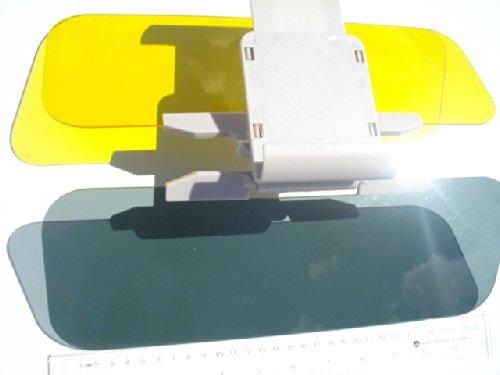 See Auto Car Sun Visor Extender; Windshield Shade Day Or Night, Anti Glare Shield 2 In 1