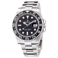 [ロレックス]ROLEX GMTマスター2 ブラック文字盤 SS 腕時計 Ref.116710 メンズ 【並行輸入品】