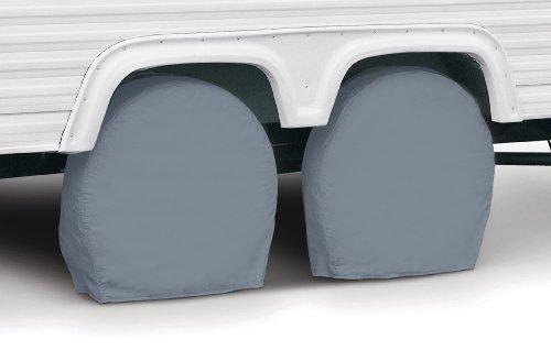 Classic Accessories 80-098-301001-00 Overdrive Grey Model 0 RV Wheel Cover