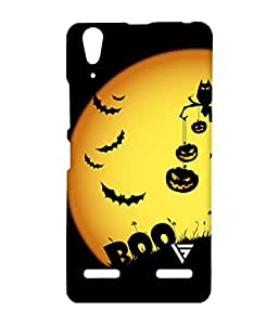 Vogueshell Boo Cartoon Printed Symmetry PRO Series Hard Back Case for Lenovo A6000