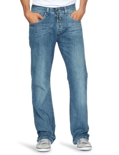 Gio Goi Dj Boot Cut Men's Jeans New Soul Wash W32 INxL32 IN