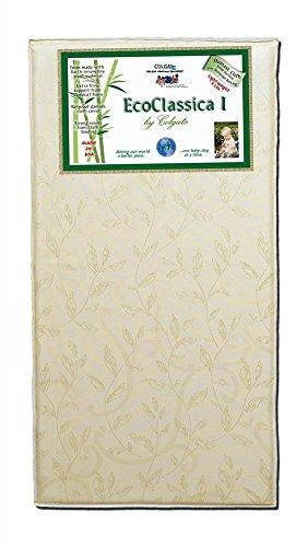 Colgate Eco Classica I - Natural Foam Crib Mattress with Waterproof Cover, Beige (Colgate Extra Firm Crib Mattress compare prices)
