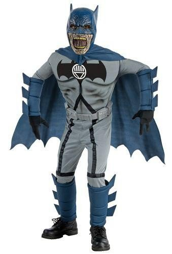 Blackest Night Deluxe Zombie Batman Costume And Mask at Gotham City Store