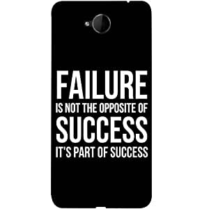 Casotec Motivational Quote Design 3D Printed Back Case Cover for Microsoft Lumia 650