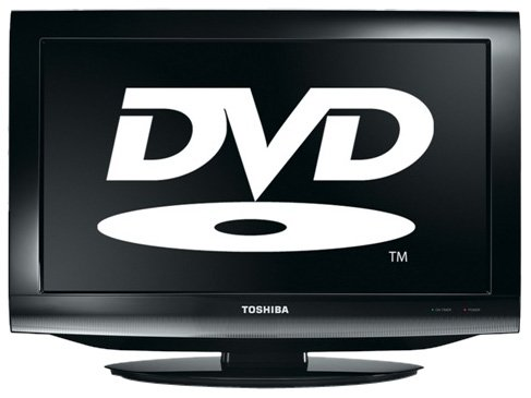 Image of Toshiba 22DV713B 22-inch Widescreen HD Ready LCD TV/DVD Combi with Freeview - Black
