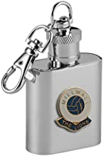 Football Club Keyring Flasks-Millwall 39The Lions39 Football Club 1Oz Keyring Hip Flask