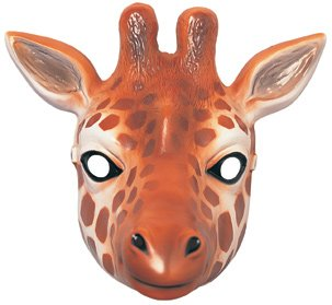 Giraffe Animal Mask Costume Accessory