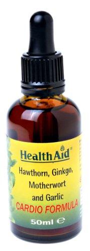 HealthAid Cardio Formula (Hawthorn, Ginkgo, Motherswort, Garlic) Liquid 50ml