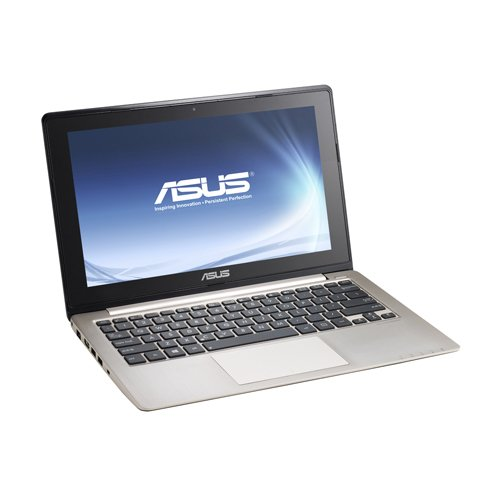 Asus Vivobook S400CA 35,6 cm (14 Zoll) Ultrabook (Intel Core i7 3537U, 2GHz, 4GB RAM, 500GB HDD, Intel HD 4000, Touchscreen, Win 8) schwarz