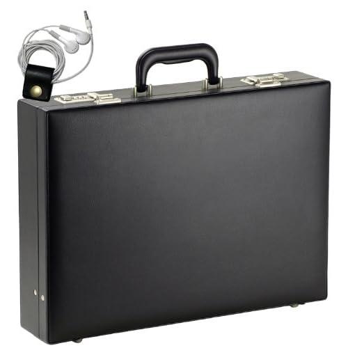 [ガスト] GUSTO ビジネスバッグ アタッシュケース ハードタイプ B4ファイル対応 44cm幅 1950g 21213 【オリジナルハンドメイド牛革製ケーブルバンドセット】