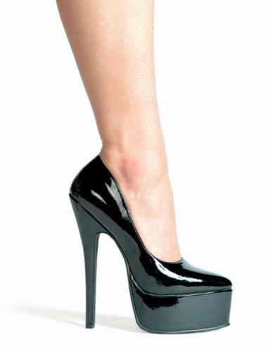 652-PRINCE, 6.5 Stiletto Heel Pump by Ellie Shoes