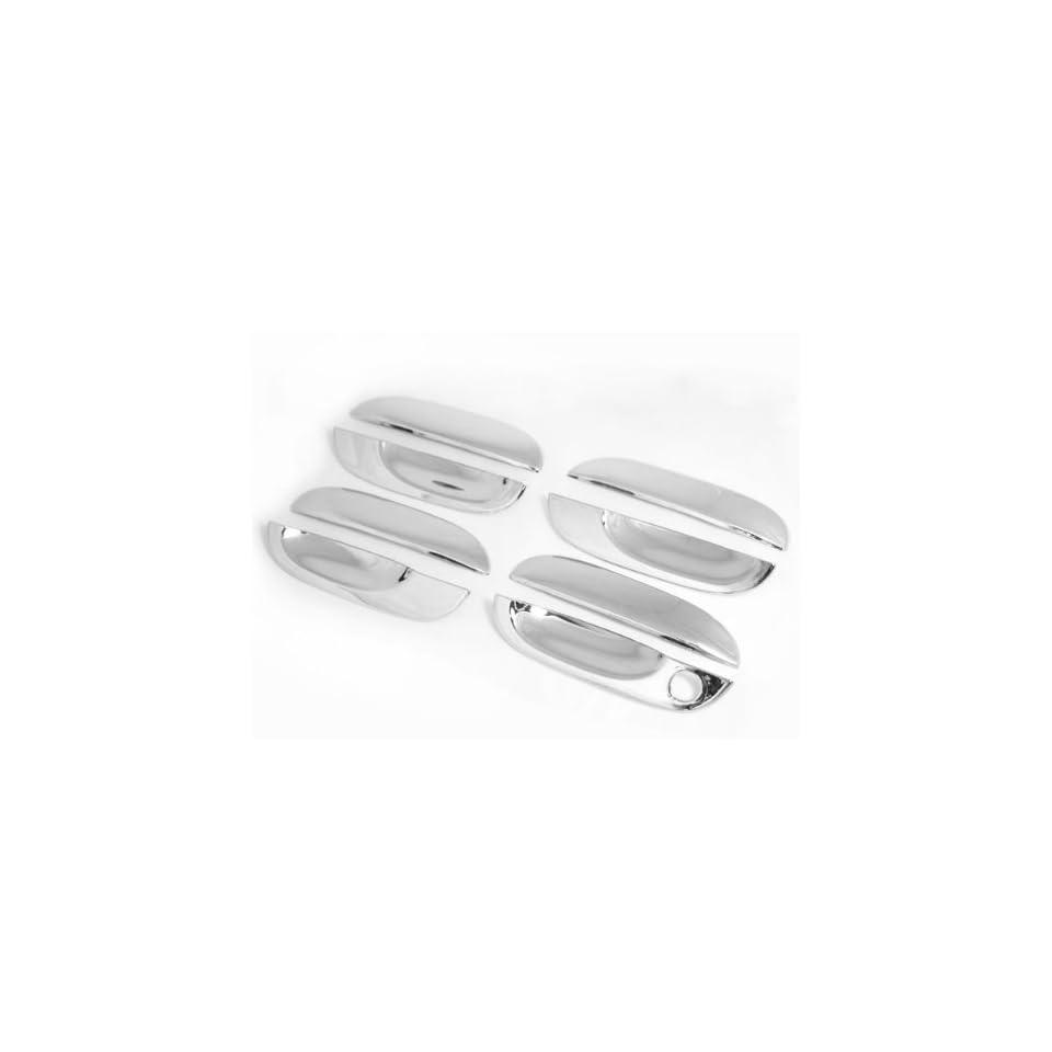 Mirror Chrome Door Handle Covers Trims For 95 01 BMW E38 740i 740iL 750iL 1995 1996 1997 1998 1999 2000 2001 Brand