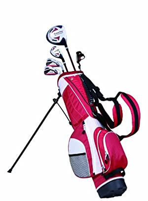 PowerBilt Junior Red 5 Club Complete Golf Set (5-Feet and Above) at Sears.com