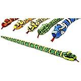 100cm soft toy snake - 6 assorted designs - Keel Toys