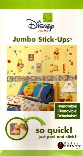 Disney Home Jumbo Winnie the Pooh Stick-Ups