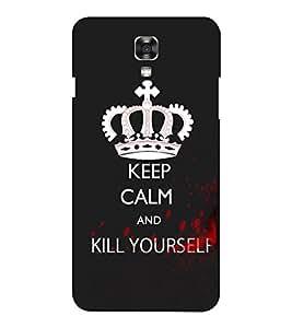 EPICCASE Madness calm Mobile Back Case Cover For LG X Power (Designer Case)