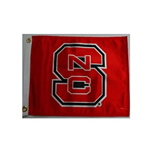 Buy NCAA North Carolina State Wolfpack Boat Golf Cart Flag by Flagpole To Go
