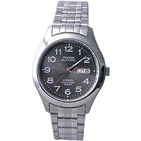 [リコー]RICOH 腕時計 ATRANTA(アトランタ) ソーラー充電 アナログ表示 スタンダード 10気圧防水 ブラック 697004-12 メンズ