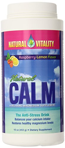 Natural Calm Raspberry Lemon 16 oz
