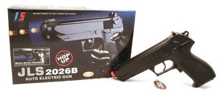 JLS 2026B Full/Semi Auto Blowback Electric Airsoft Pistol Gun —NEW!!