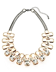 M&S Collection Diamanté Collar Necklace