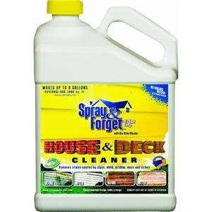 Spray and Forget SFHD64OZ-4 Spray & Forget Deck & House Cleaner