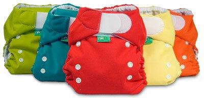 Bummis Tot Bots Easy Fit One Size Pocket Diaper 3PK