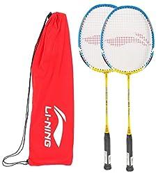 Li-Ning Badminton Racquet Smash Serieswith Extra Grip XP 60 II