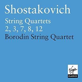 Shostakovich: String Quartets Nos. 2, 3, 7, 8 & 12