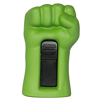 Zeztee Pen Drive ZT11604 Avanger Hulk Hand Shape 16 GB USB 2.0 Designer Fancy Flash Drive in Green Color