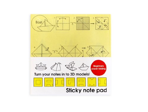 Suck UK Origami Sticky Note Pad (SK ORIGAMINOTE1)