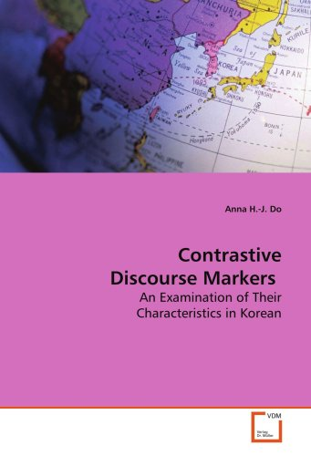contrastive discourse 60 31 research focus numerous studies have been conducted to investigate and compare discourse patterns in english and other languages (eg kobayashi 1984.