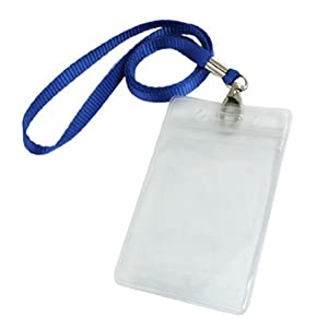 Amazon.com : Uxcell Plastic Vertical ID Badge Card Holder