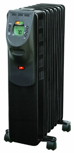 Comfort Zone® Digital Electric Oil Filled Radiator Heater CZ9009