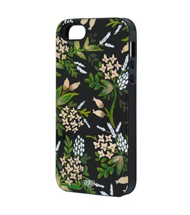 Special Sale Rifle Paper Co - Forest Flowers Iphone 5 Case - with Rubber Inlay