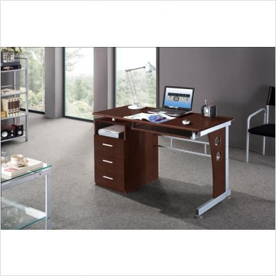 Buy Low Price Comfortable Techni Mobili Computer Desk (B005N2JI9E)