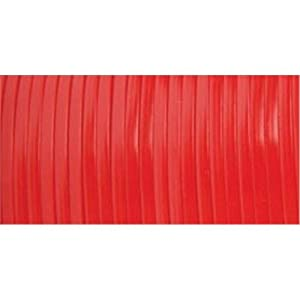 Pepperell Rexlace Plastic Craft Lace, 3/32-Inch Wide, Red
