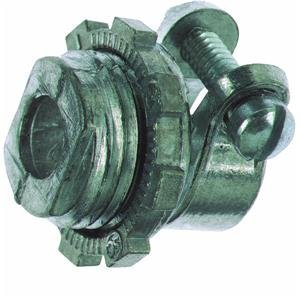 Thomas & Betts 3/8X1/2Squeez Connector Xc269-1 Flexible Conduit Fittings- Ste...